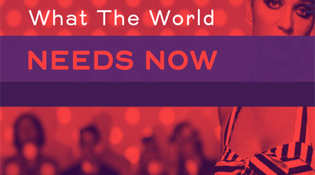 What the world needs now concert