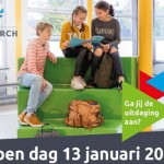 Open Dag zaterdag 13 januari 2018