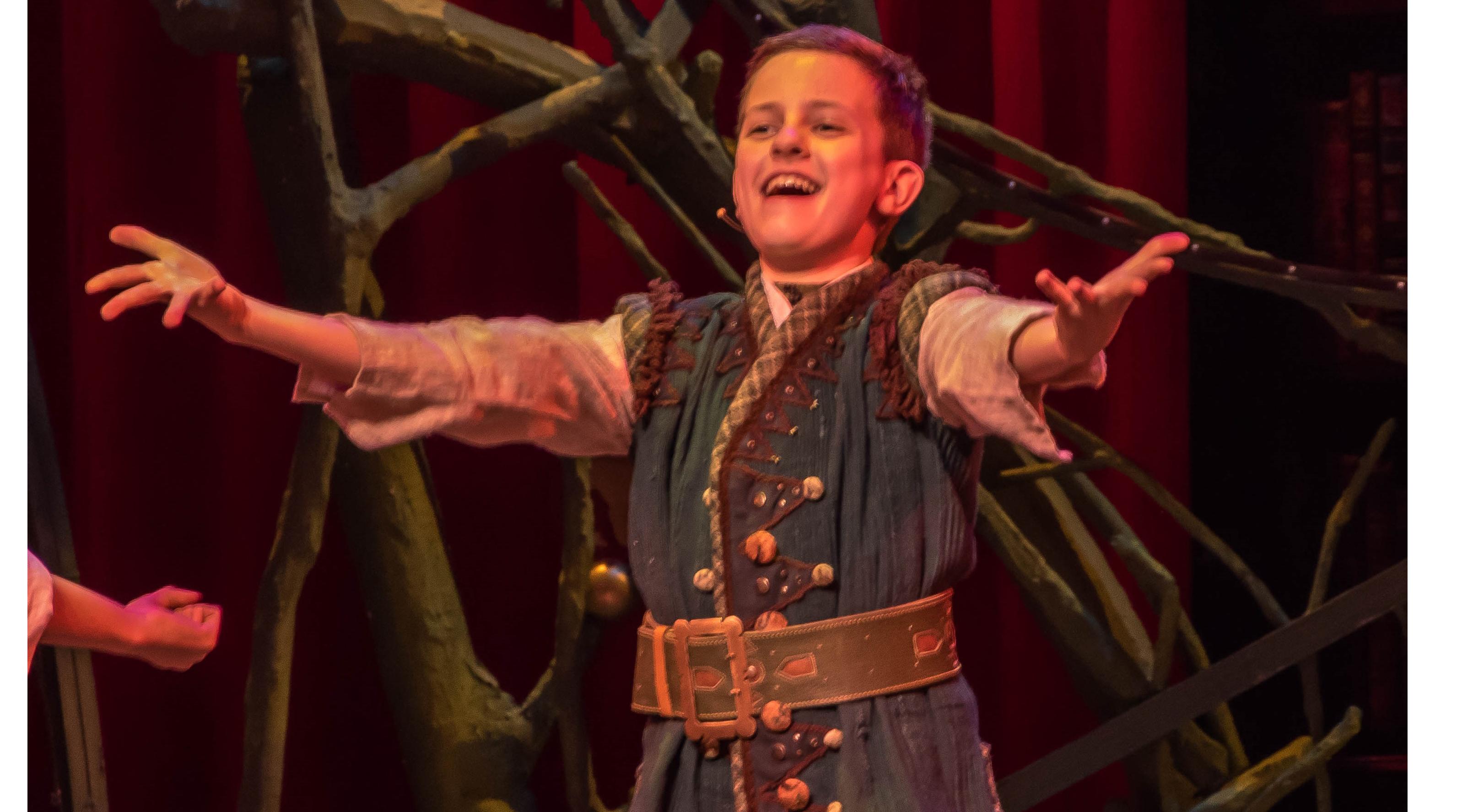 Krijn van den Berge speelt hoofdrol in Efteling musical