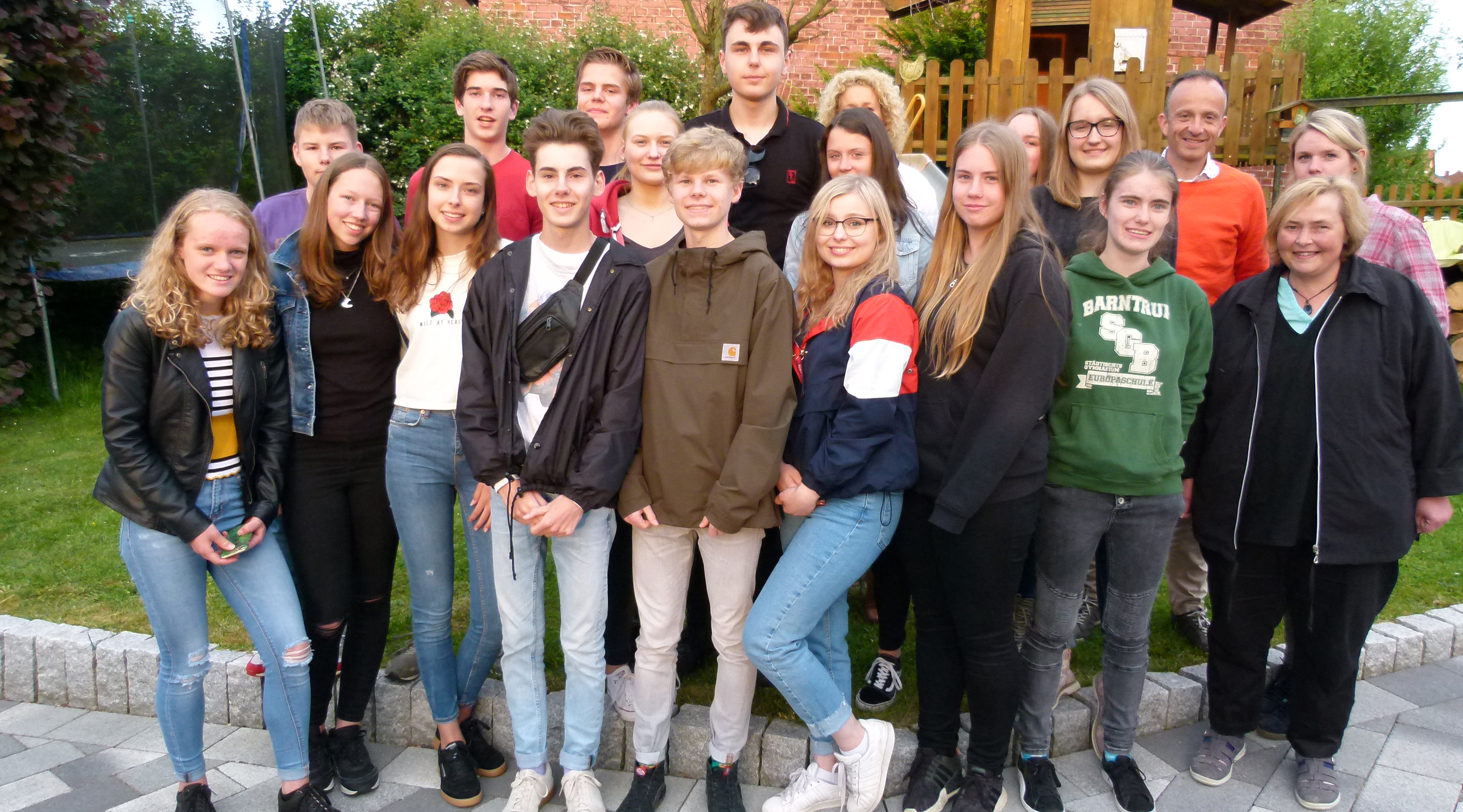 Uitwisseling Rodenborch-Gymnasium Barntrup