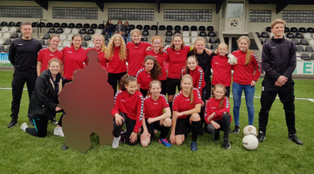 Tweede plaats Olympic moves schoolteam meisjesvoetbal