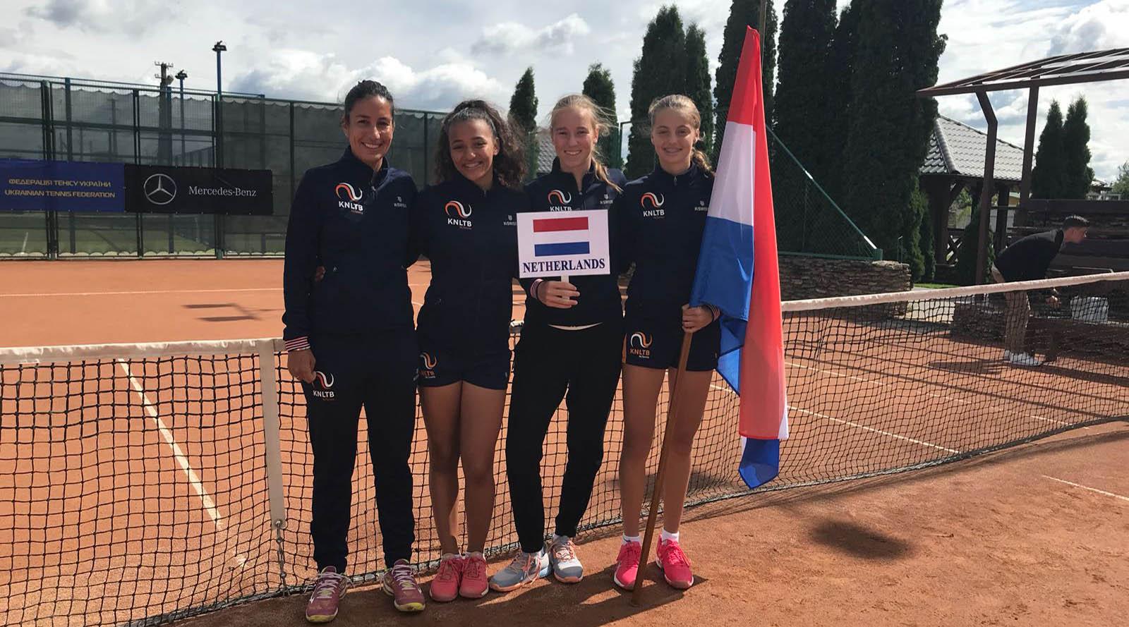 Succesvolle zomer voor tennisster Florentine Dekkers