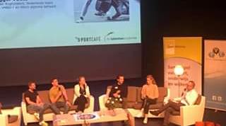 Paneldiscussie Sport Alliantie met LOOT-leerlingen