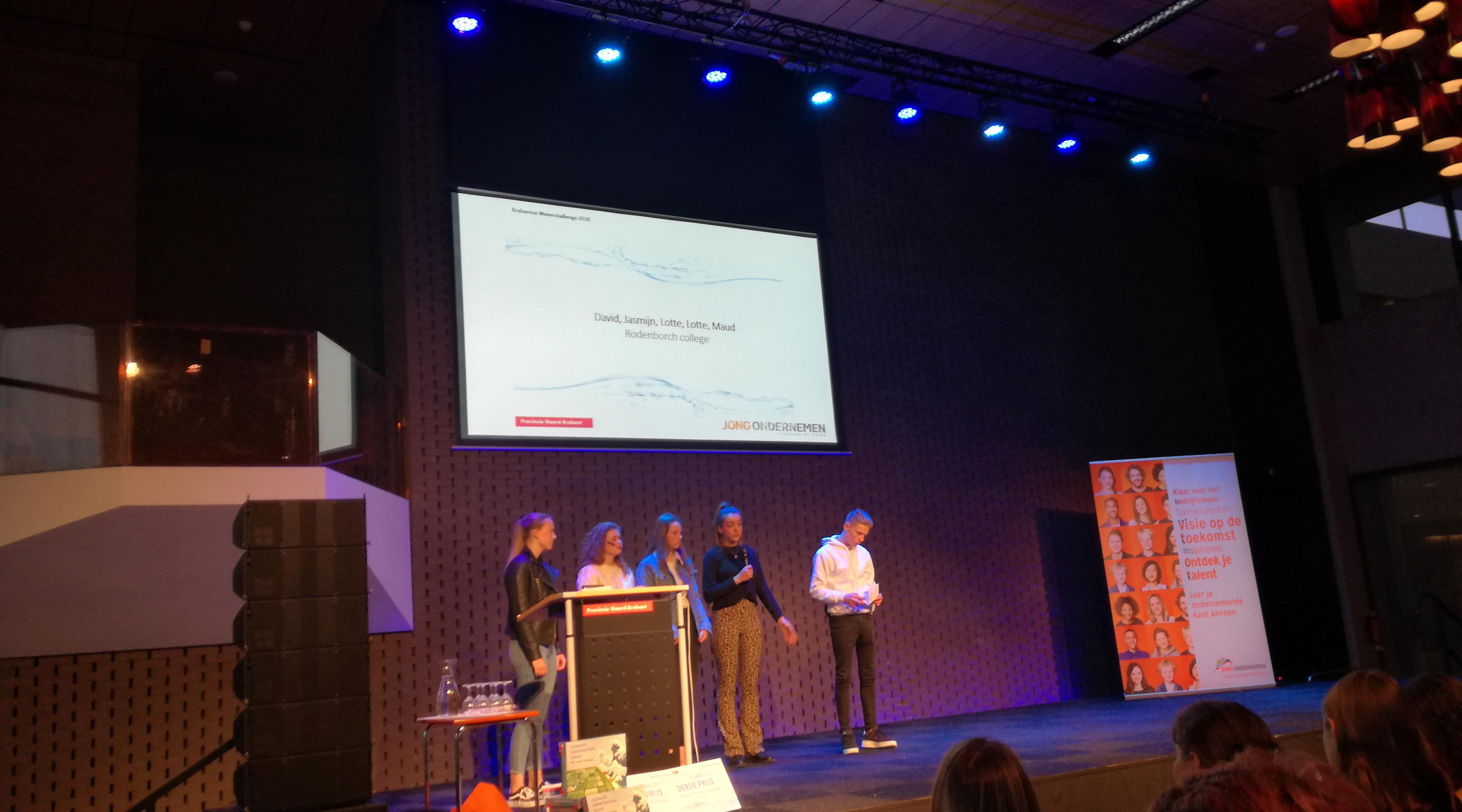 Jippe, Sophie, Tom en Puck winnen de Brabant Water Challenge 2018