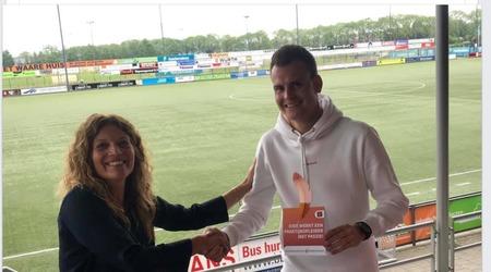 Bas van den Elzen krijgt de SBB pluim.