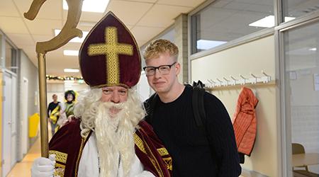 Sinterklaas bezoekt Rodenborch College